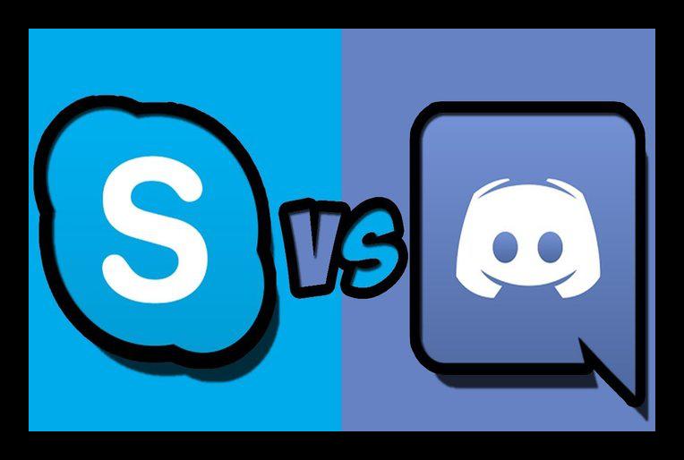 Картинка Сравнение Discord или Skype