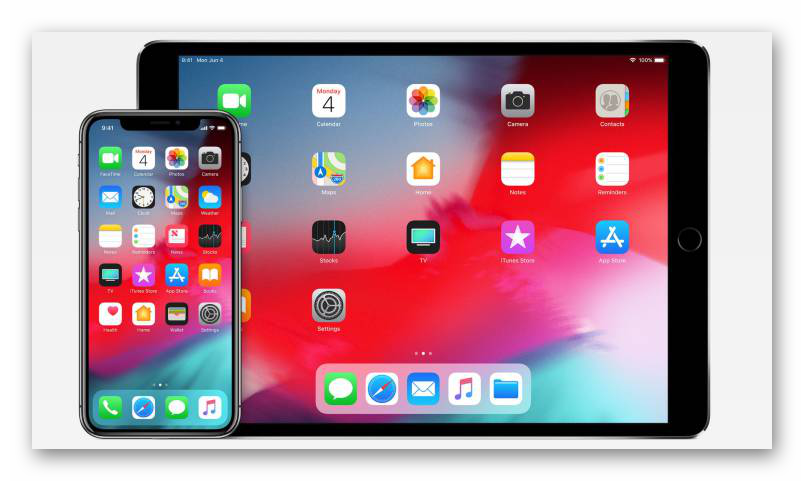 Картинка Устройства iOS