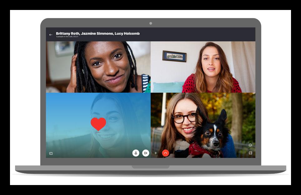 Картинка Видеоконференции в Skype