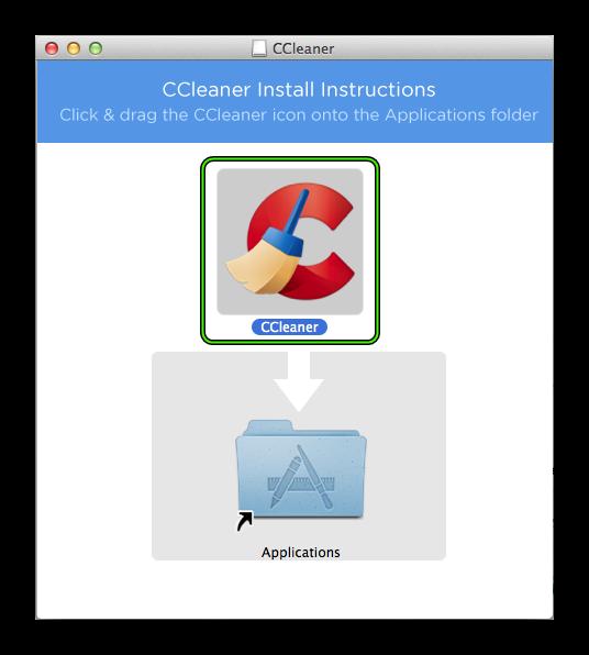 Установить CCleaner для Mac