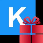 Как в Кейт Мобайл отправить подарок