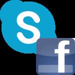 Как войти в Скайп через Фейсбук