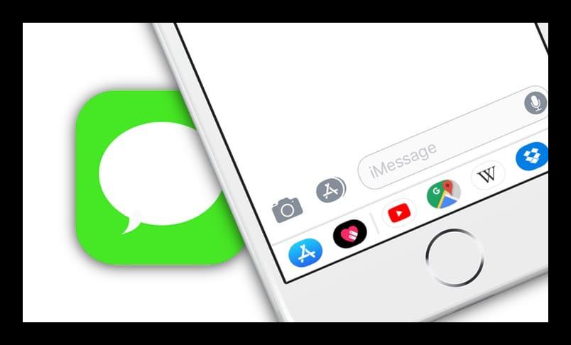 Логотип iMessage