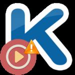 Тайм-аут загрузки видео в Kate Mobile