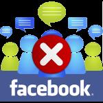 Как удалить группу в Facebook