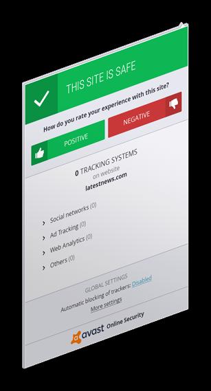 Картинка Расширение Avast Online Security для браузера