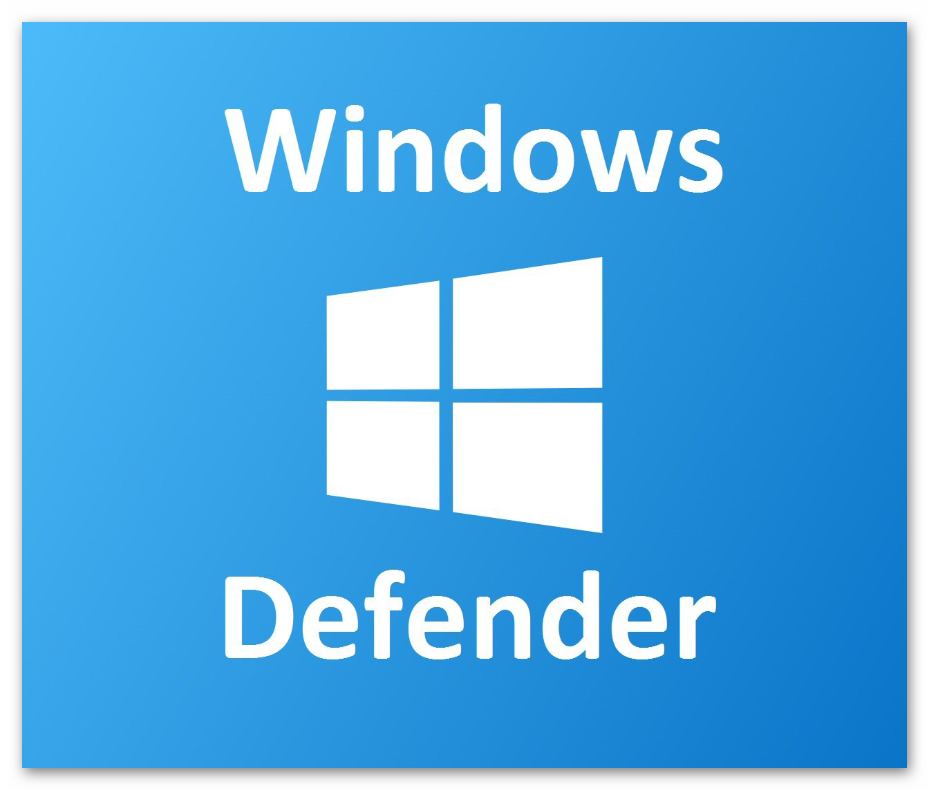 Картинка Windows Defender