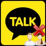 Как удалить аккаунт в Kakao Talk
