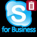 Как удалить Skype for Business