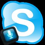 Как в Скайпе поставить микрофон на кнопку