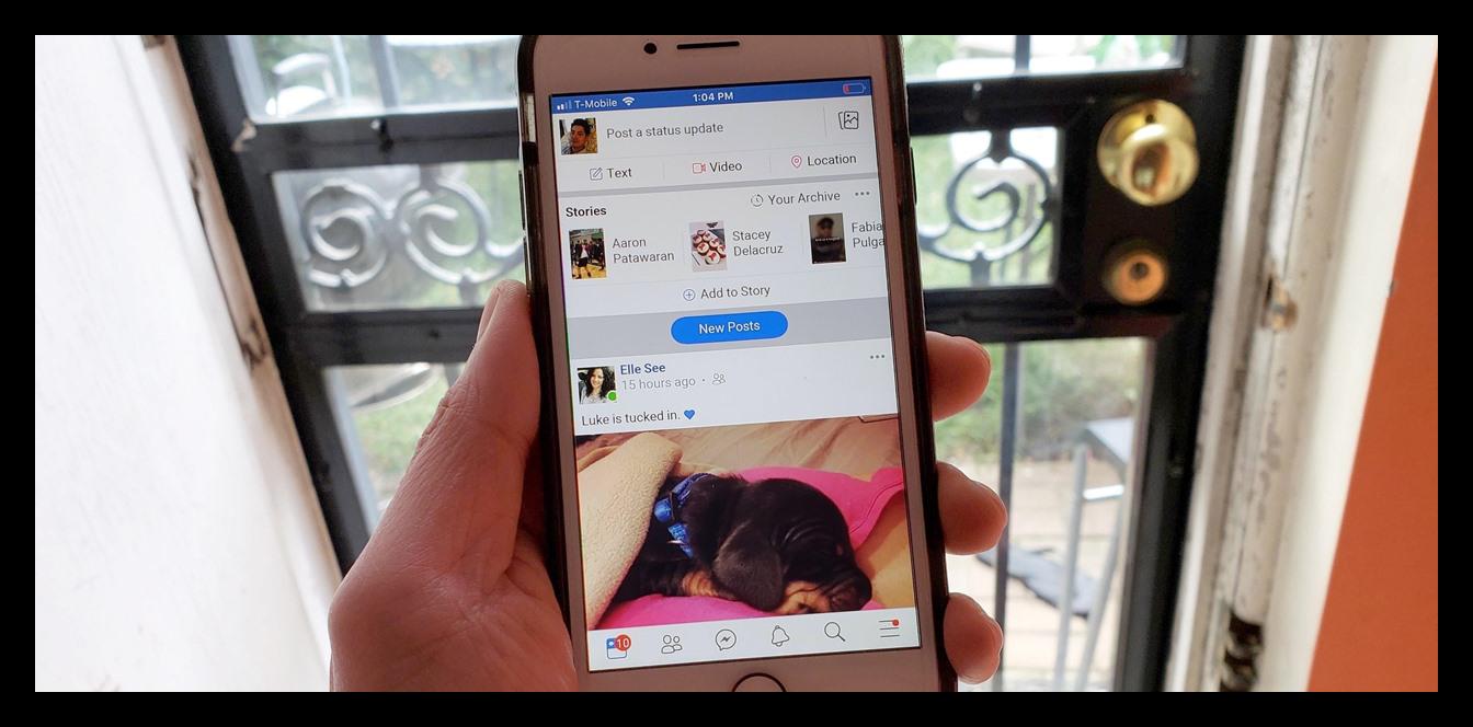 Картинка Facebook Lite на iPhone