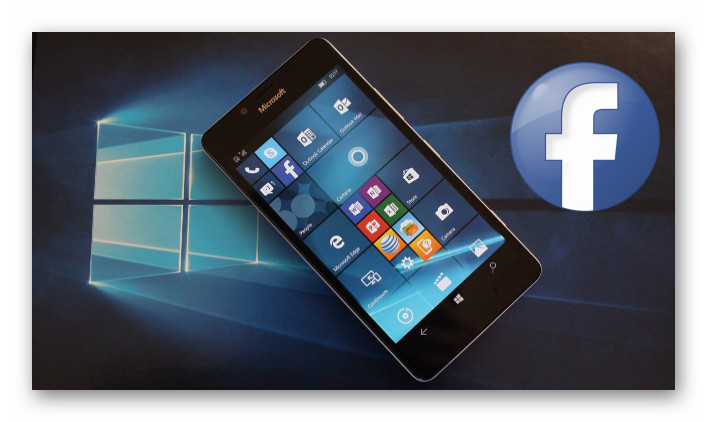 Картинка Facebook для Windows Phone