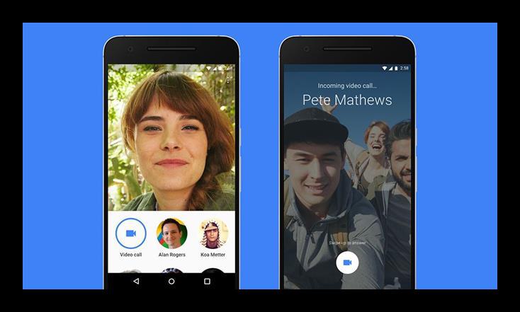 Картинка Google Duo на Android