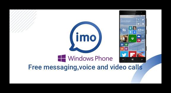 Картинка Мессенджер imo для Windows Phone
