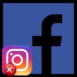 Как отвязать Facebook от Instagram