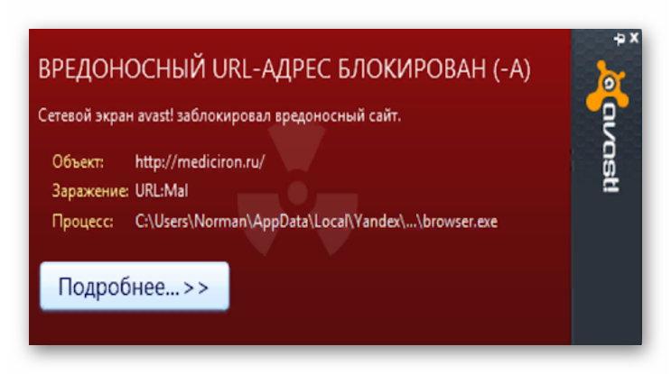 Обнаружение URL Mal