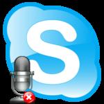 Skype не видит микрофон
