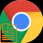 Панель закладок Google Chrome