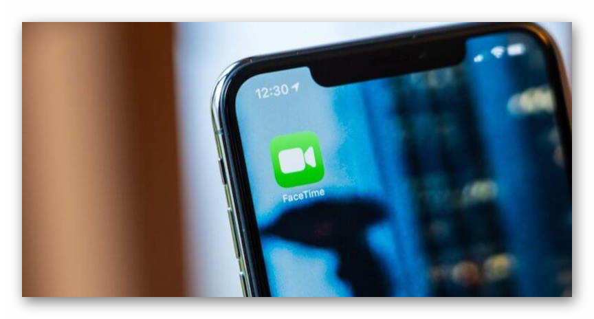 Картинка Иконка FaceTime на iPhone