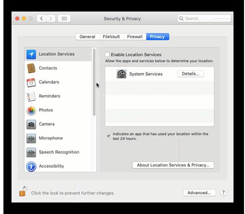 Настройка приватности при установке Аваст на Мак