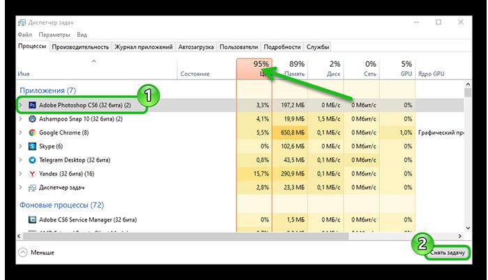 Отключение лишнийх, нагружающих процессор в Яндекс Браузере