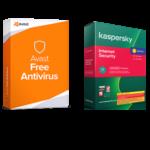Что лучше: Avast или Kaspersky