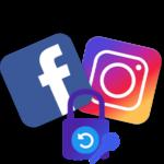 Как сбросить пароль Инстаграм через Фейсбук