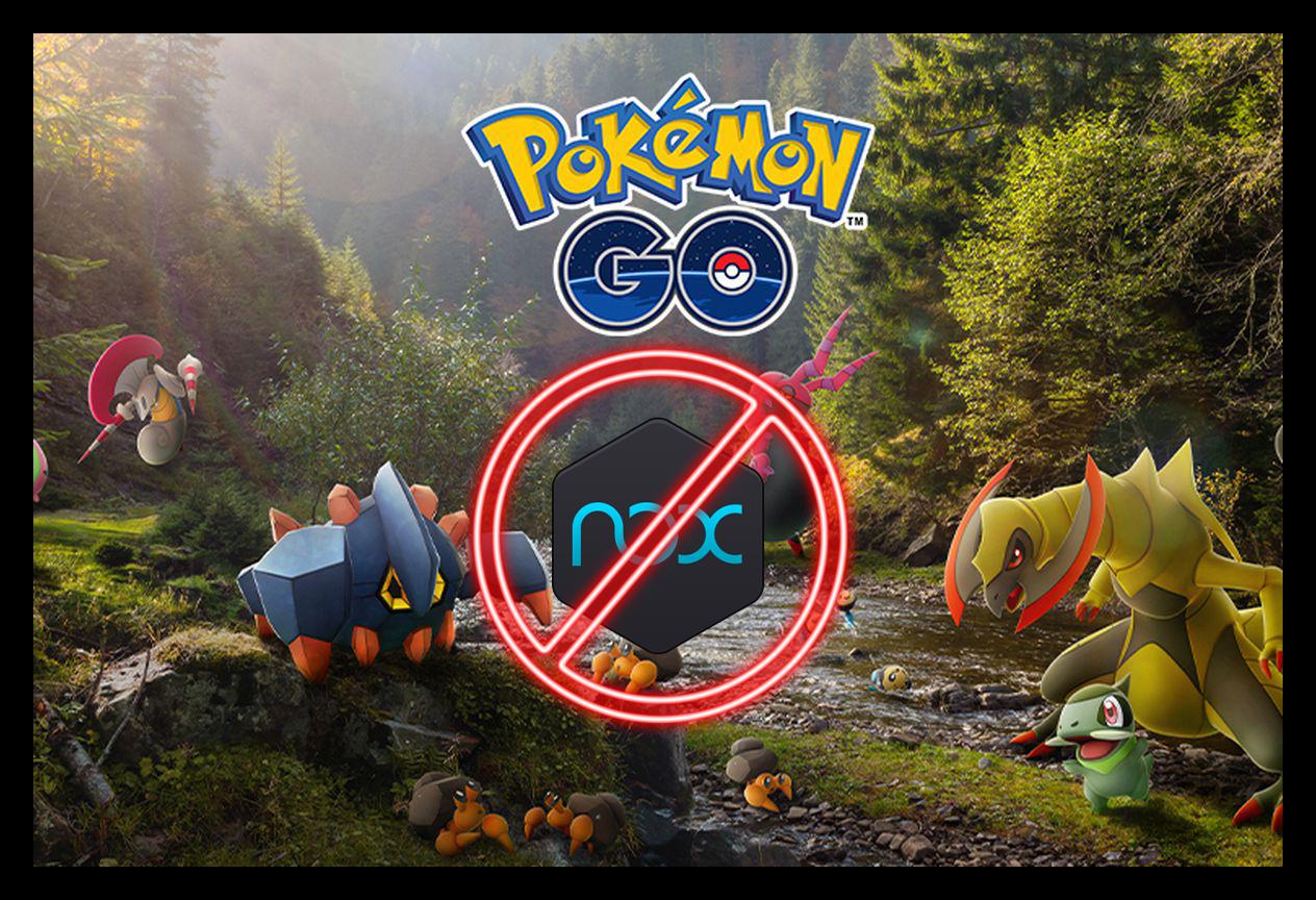 Картинка Pokemon Go в Nox App Player