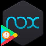 Ошибка сервисов Google Play в Nox App Player