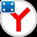 Полноэкранный режим в Яндекс.Браузере