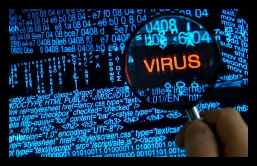 Чистка системы от вирусов