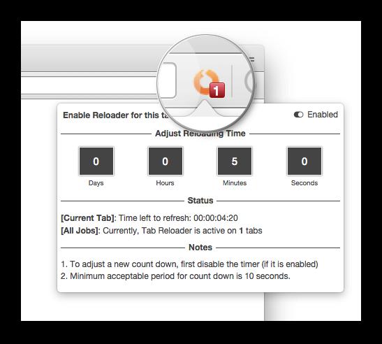 Page Reloader в браузеое Opera
