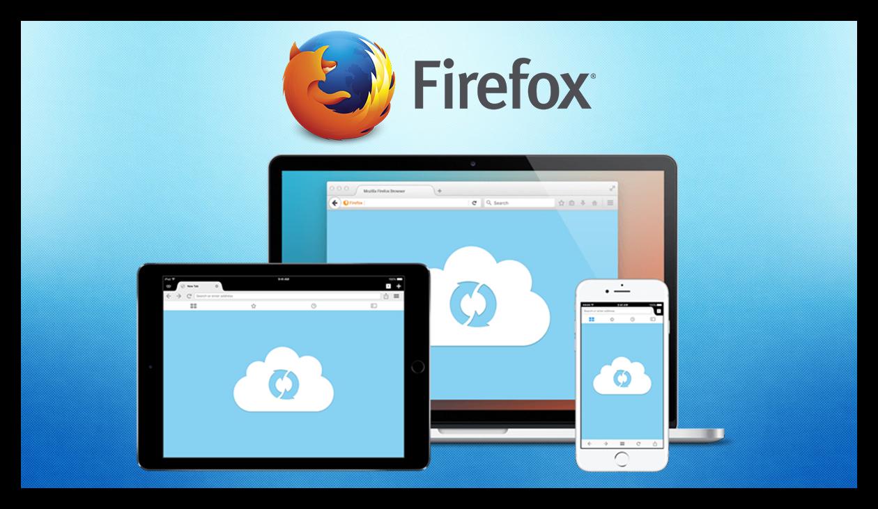 Синхронизация Mozilla Firefox
