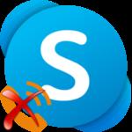 Skype сбрасывает звонок при вызове