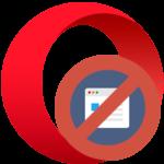 В Opera не удалось получить доступ к сайту