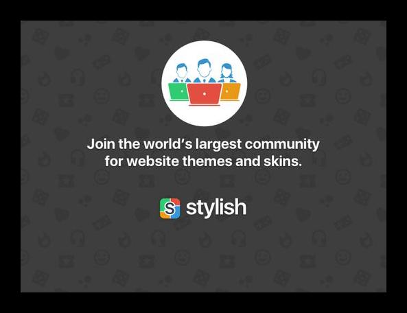 Stylish - Custom themes for any website для Firefox