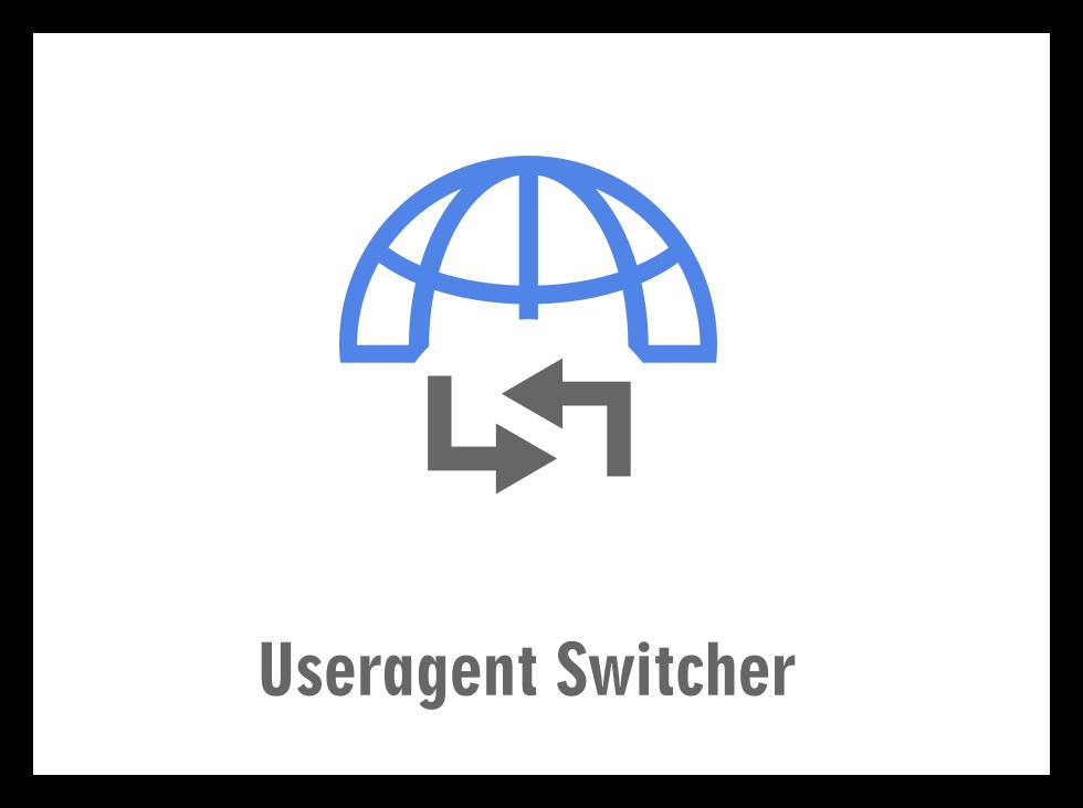User Agent Switcher для Firefox