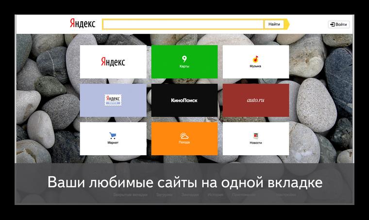 Визуальные закладки от Яндекс для Firefox