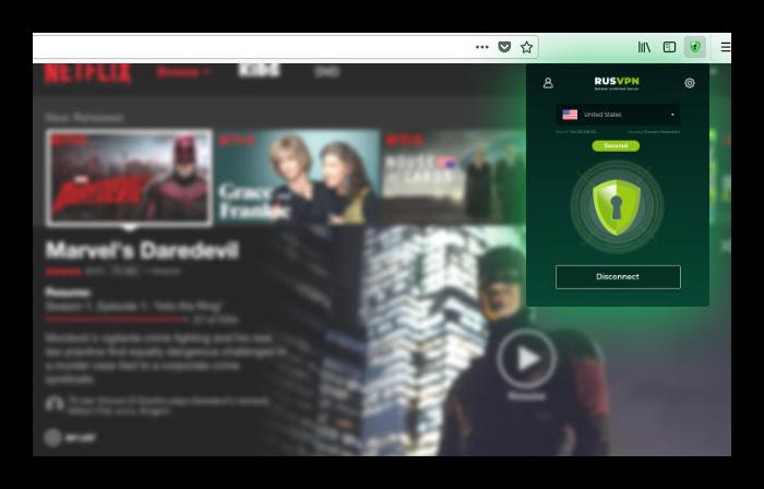 Плагин RusVPN для обхода блокировок в Яндеекс Браузере