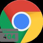 Серое окно в Google Chrome