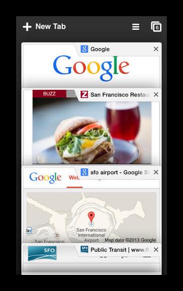Гугл Хром для iPhone