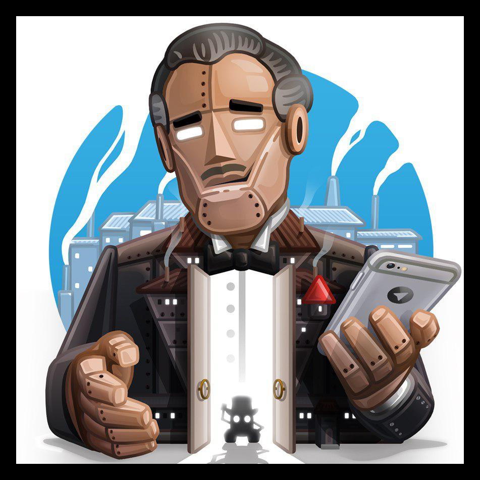 Картинка BotFather для Telegram