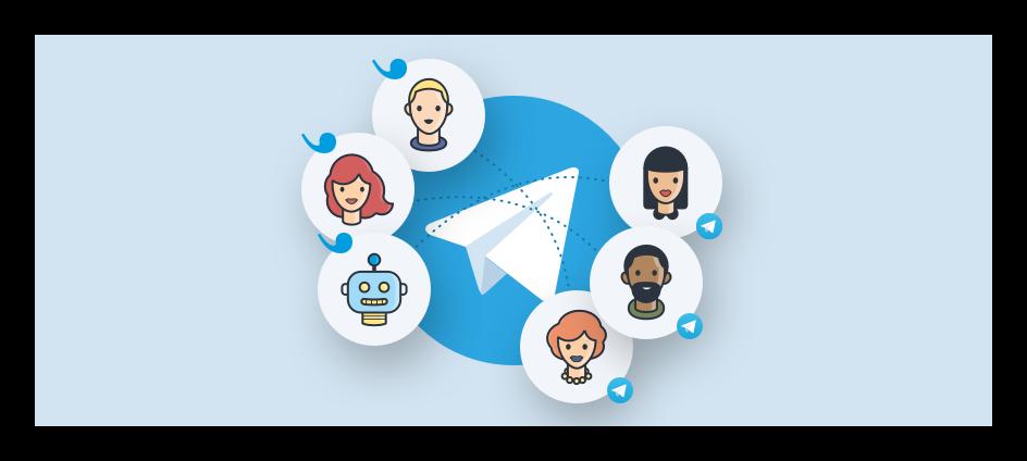 Картинка Служба поддержки Telegram