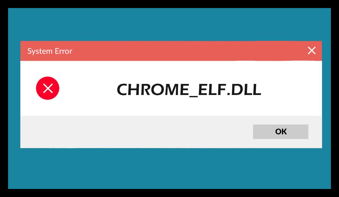Ошибка с файлом Chrome_elf dll